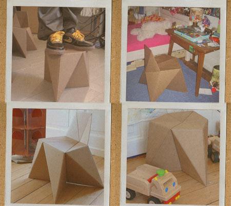 Sillas de papel para armar imagui - Como se hace una casa de madera ...