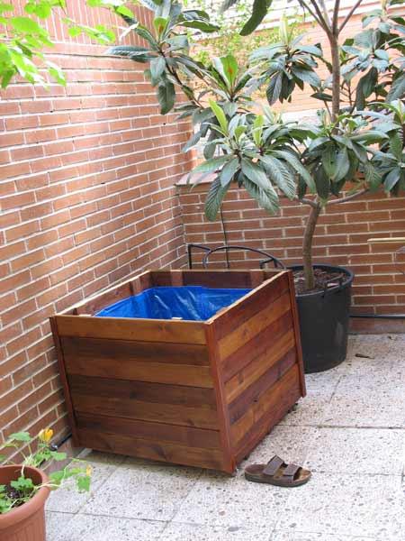 Jardinera palets-Elisa