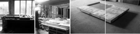 Mesa suspendida-Sotano Studio