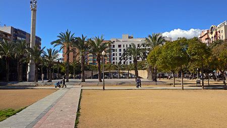Plaza La Viña. Foto: chunkfree