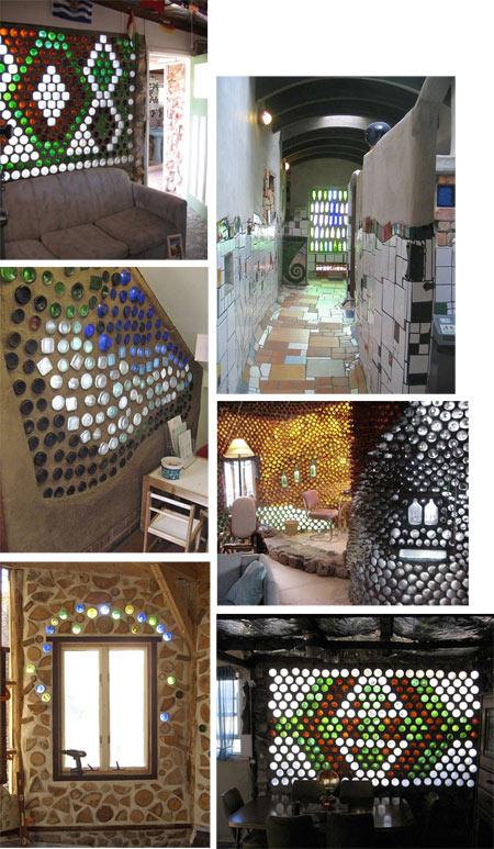 Casas de botellas Fuente: Vitreosity en www.krepcio.com. Pincha en la foto.
