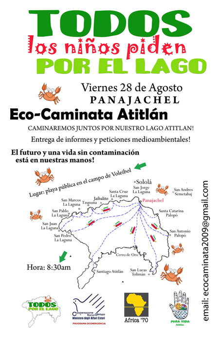 Eco-Caminata Atitlán 2009