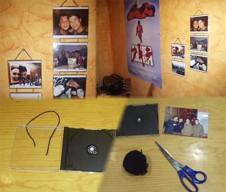 Marcos para foto con cajas de Cds