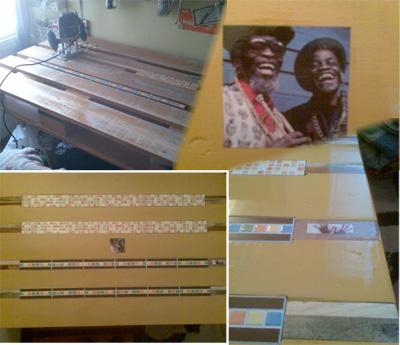 Nivael - Mesa hecha con palés