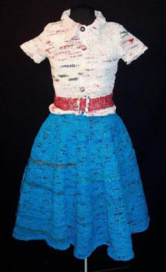 Grocery bag dress - Craftzine