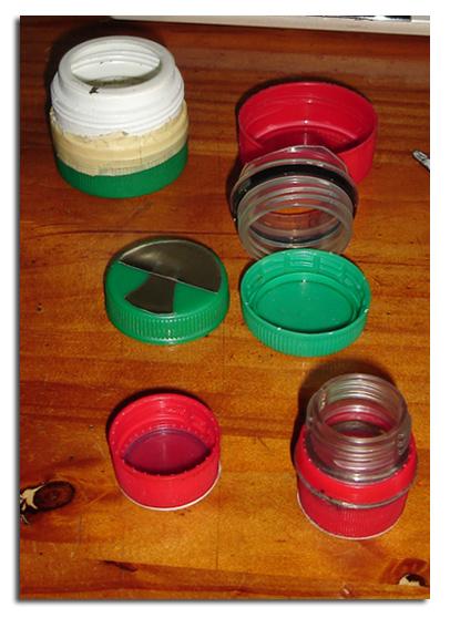 Tapones reutilizados - Primo
