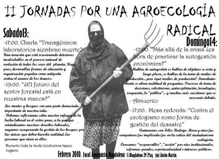 Jornadas por una Agroecologia Radical