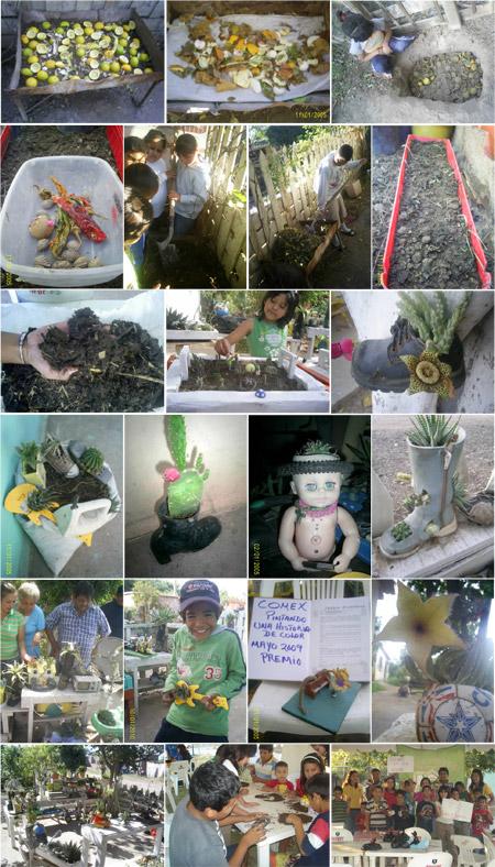 Compostadora reciclando - Ecologia y Reciclaje de Sonora