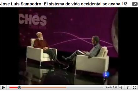 Entrevista a Jose Luis Sampedro TVE1