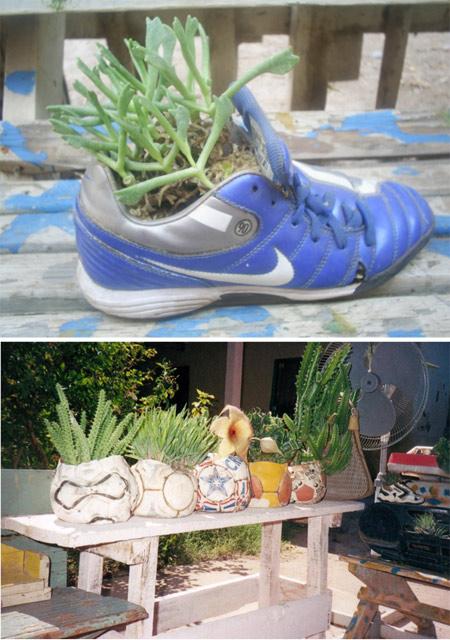 Jardines reciclaje - Mario A. Tapia