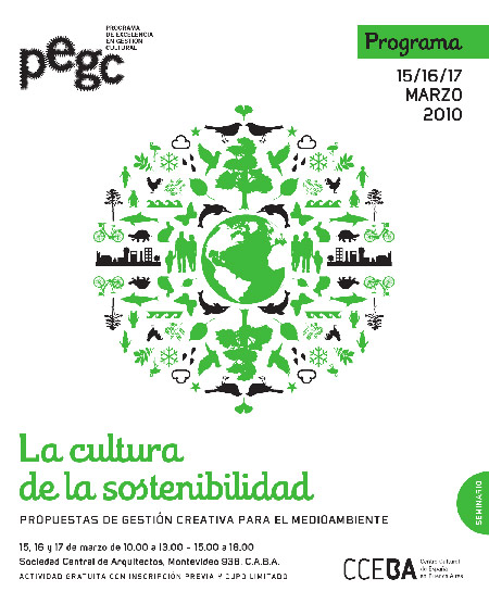 La cultura de la sostenibilidad - pegc - CCEBA