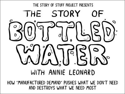 La historia del agua embotellada - The Story of Stuff Project