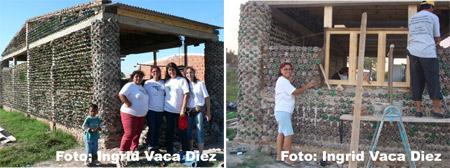 Casa hecha con botellas - Argentina - Ingrid Vaca Diez
