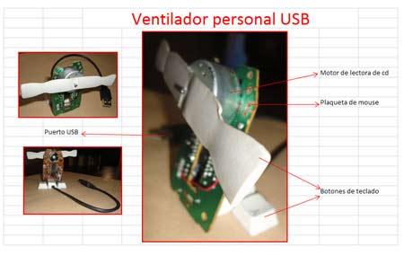 Ventilador USB - Lucas U. - Basurillas.org