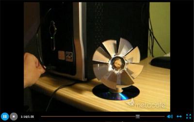 USB Cooler - Metacafe video