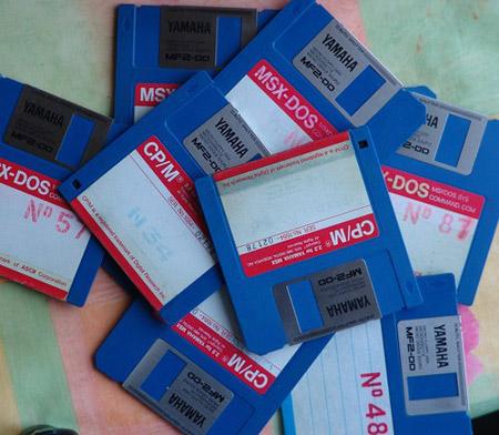 disquetes reutilizar