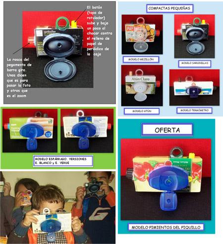 Cámara de fotos - Reciclando en la escuela