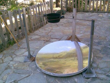 Cocina solar de Ilde en Coín.