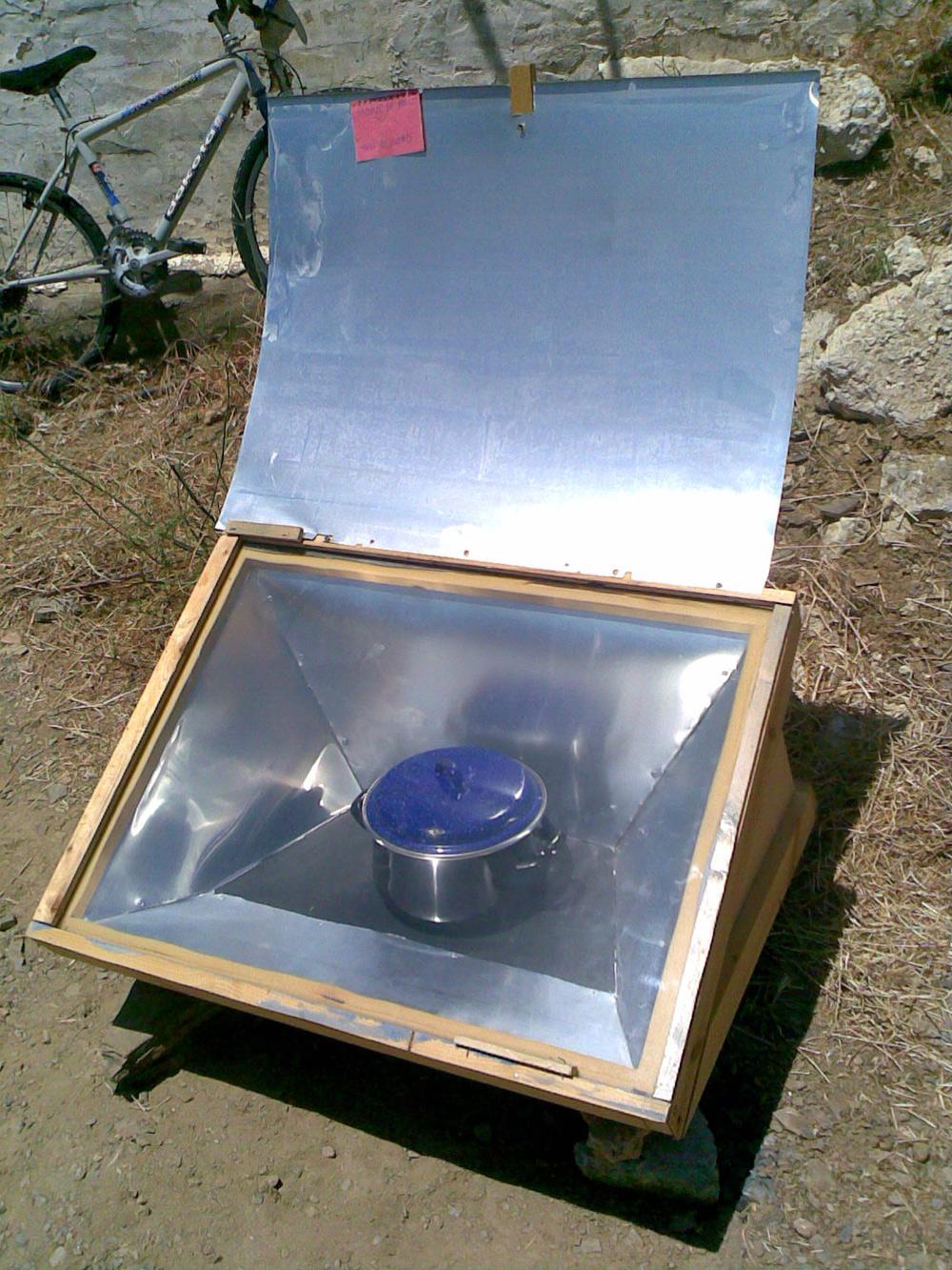 Basurillas blog archive cocina y horno solar for Planos para construir una cocina solar
