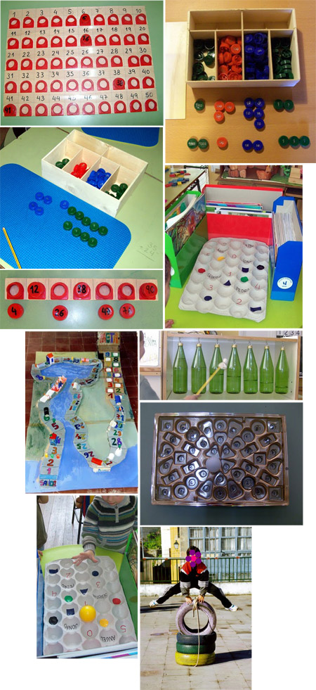 Juegos - Reciclando en la escuela.