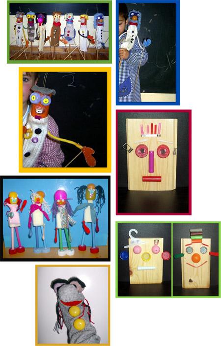 Marionetas - Reciclando en la escuela