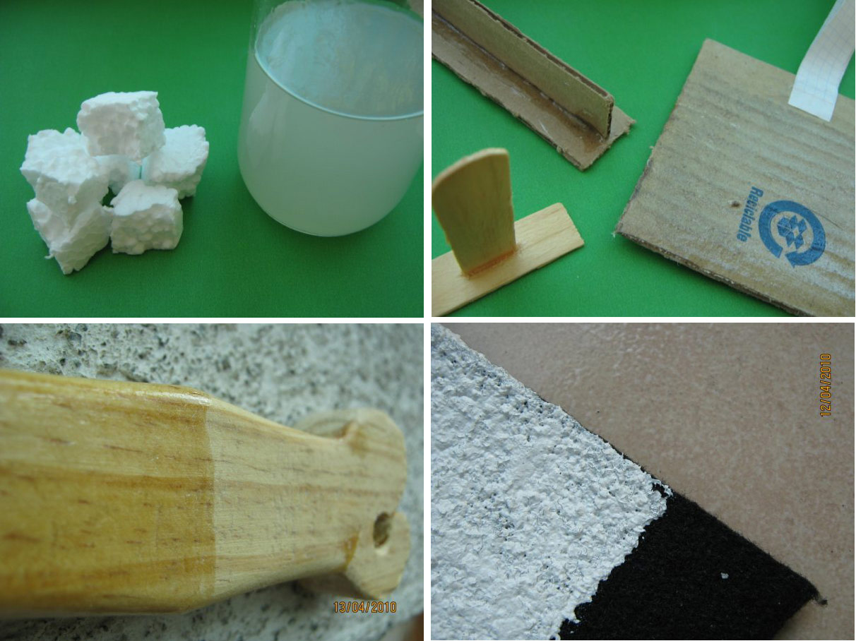 Basurillas blog archive reciclaje de poliestireno - Manualidades corcho blanco ...
