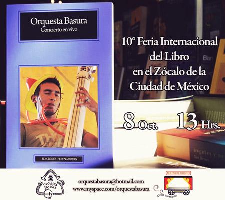 Orquesta Basura en el Zócalo