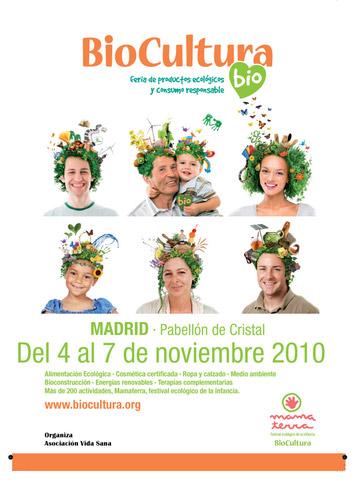 Feria Biocultura en Madrid 2010