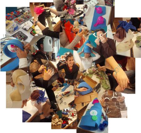 Collage sobre taller de basurotecnia - Reciclantes