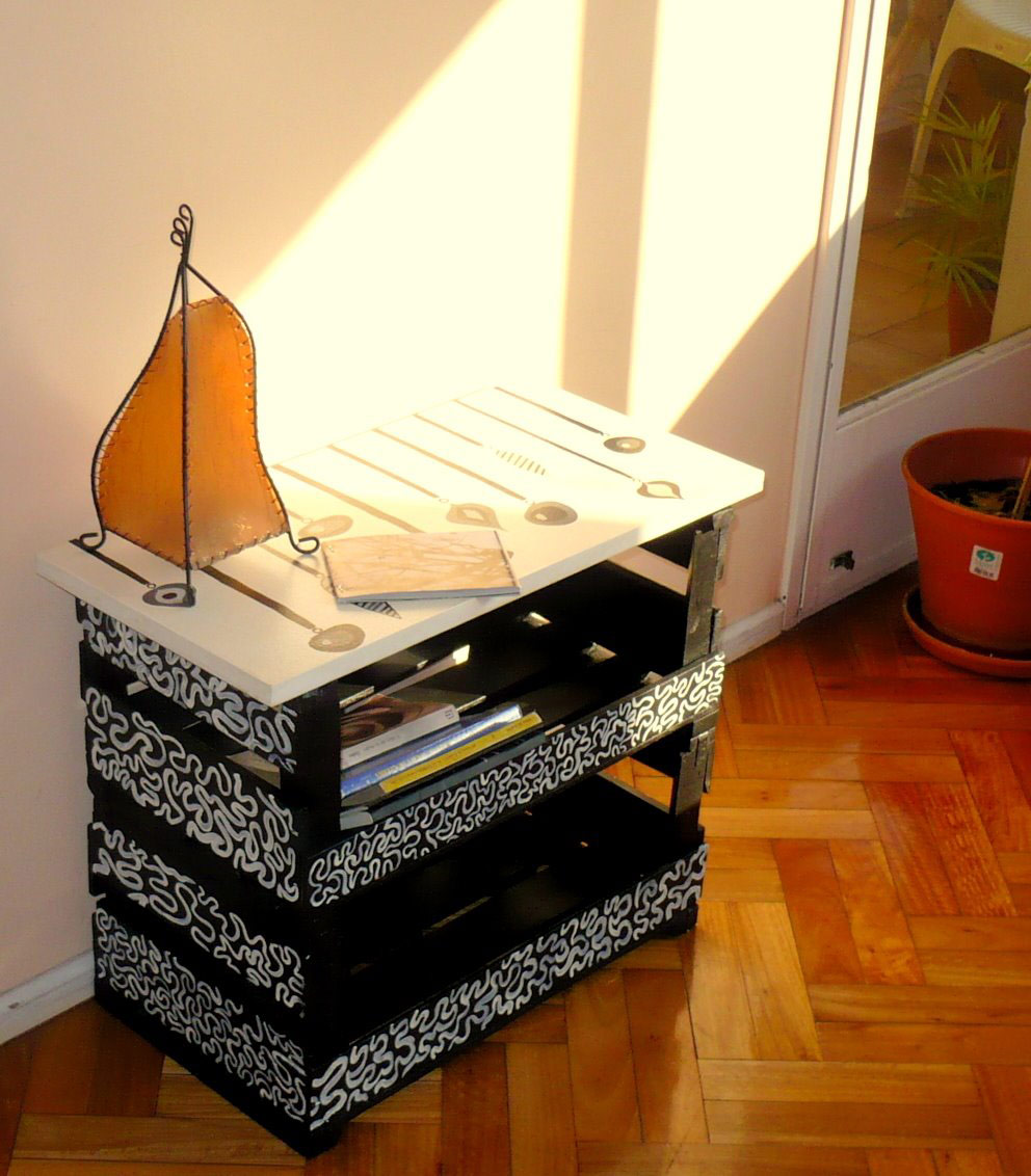Basurillas blog archive me encontr un cachivache for Ideas muebles