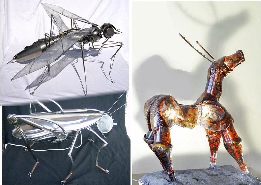 Ideas De Insectos Hechos Con Materiales Reciclados