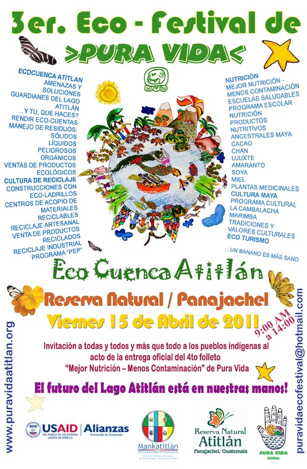 Tercer Ecofestival Pura Vida Atitlán