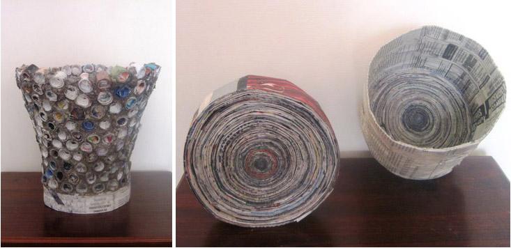 Basurillas » Blog Archive Artesanía en reciclaje de papel a12458a09c53