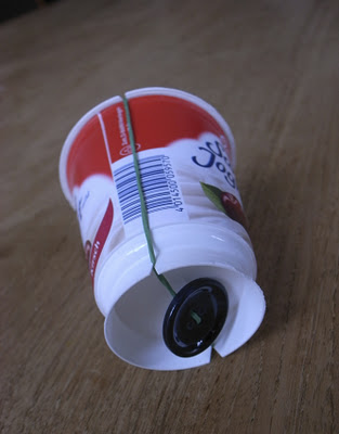 Tambor yogurt - El hada de papel