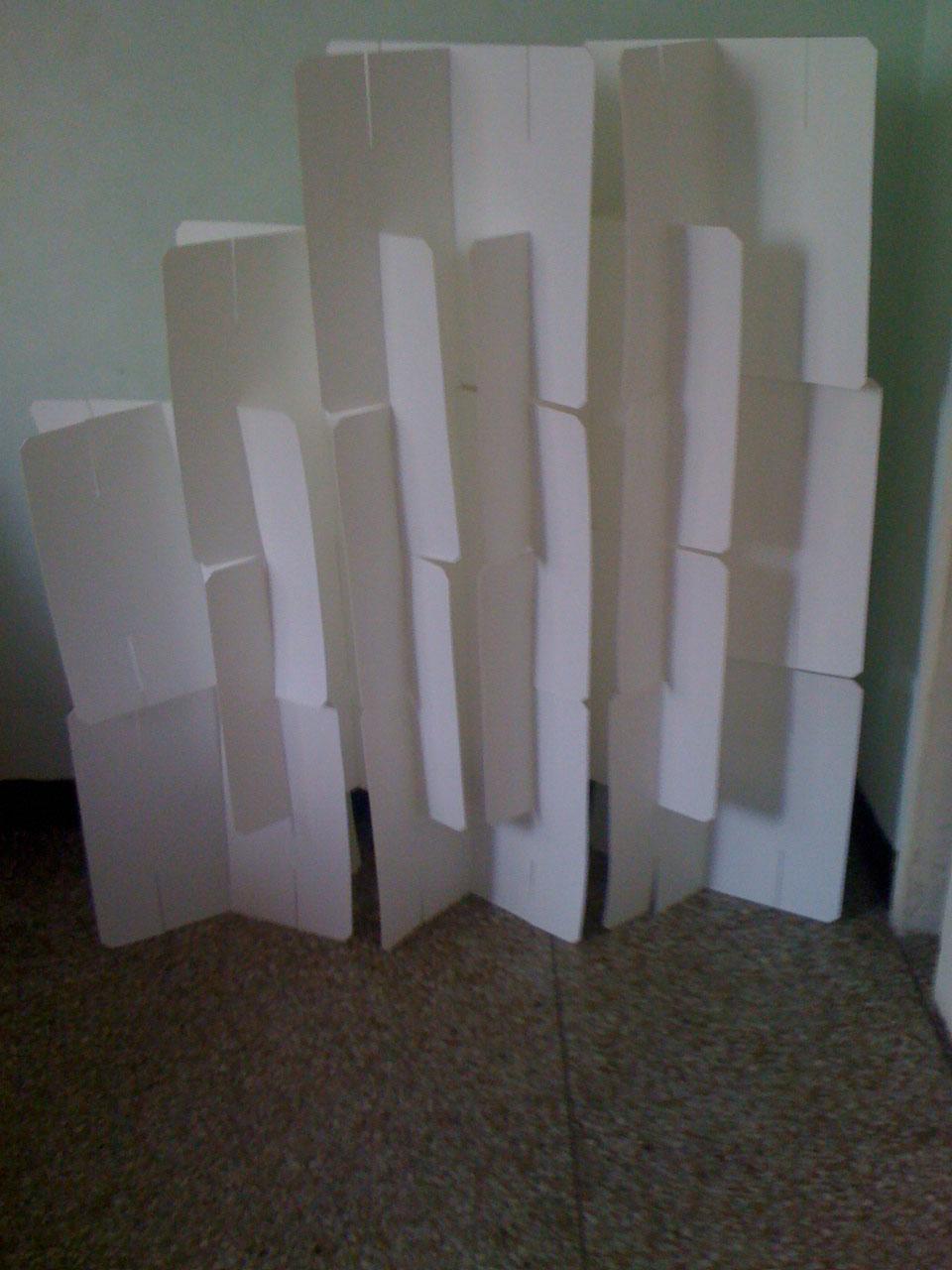 Basurillas blog archive biombo con placas de radiolog a - Como hacer un biombo ...