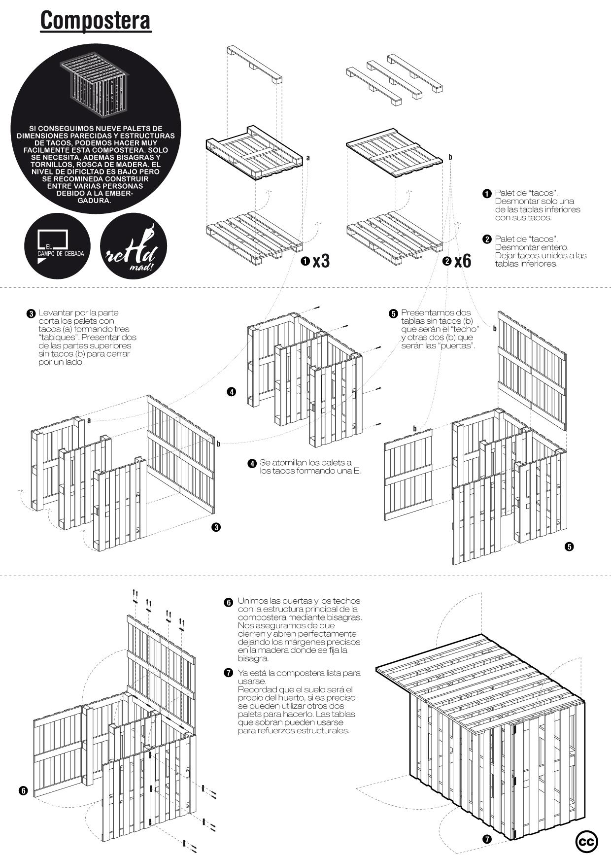 Planos de diferentes muebles hechos con palets muy ingenioso for Planos para muebles