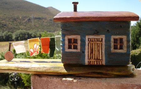 Artesanía con madera vieja - Made Madera