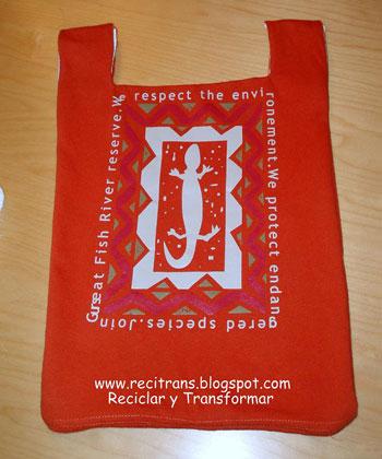Reciclar bolsa camiseta - reciclartransformar.com