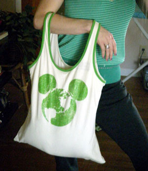 Make a Purse out of Tank Tops - diyfashion.about.com