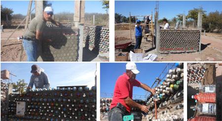 Casa hecha con botellas de plástico - Mario Alberto Tapia - México