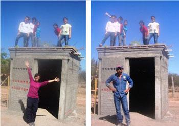 Casa autoconstruida con botellas de pet - México - Mario Alberto Tapia.