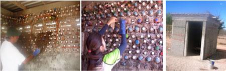 Casa autoconstruida reciclando botellas de pet - México - Mario Alberto Tapia