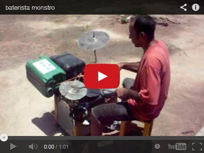 baterista monstro by dede18041995