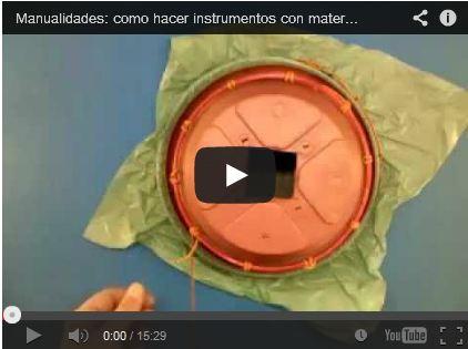 Manualidades: como hacer instrumentos con material reciclado- Yembe by utilidadTV