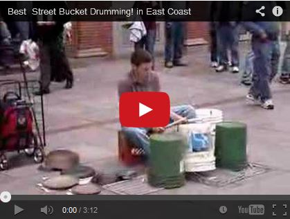 Best Street Bucket Drumming! in East Coast by Sako94