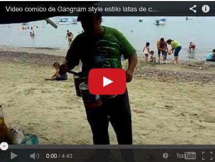 Video comico de Gangnam style estilo latas de colima by Jorge Fuentes
