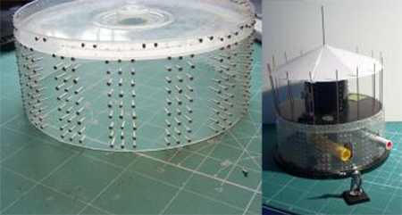 Construcción maqueta torreta con portacds por Rinahe