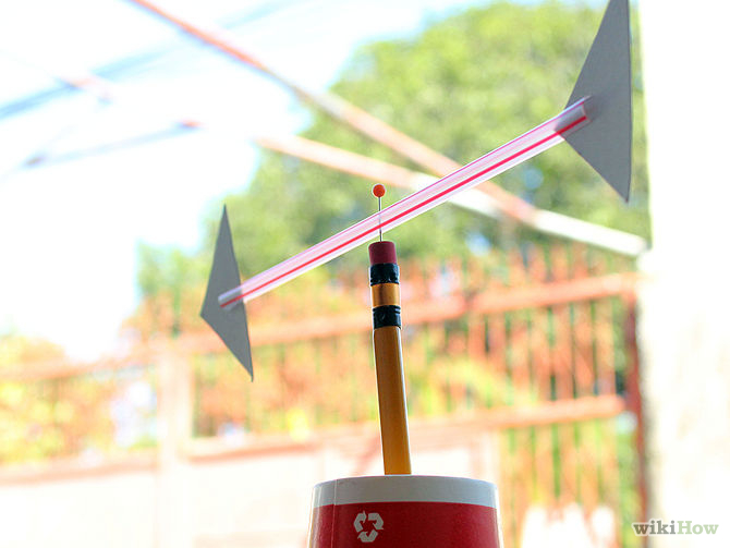 How to Make a Wind Vane from wikihow.com
