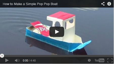 How to Make a Simple Pop Pop Boat - DaveHax