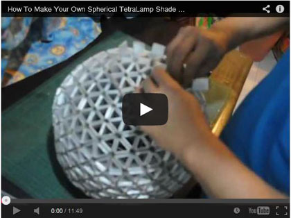 How To Make Your Own Spherical TetraLamp Shade - archiquotes - TetraBox Community
